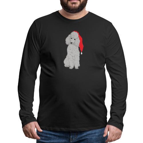 Poodle toy G - christmas - Herre premium T-shirt med lange ærmer