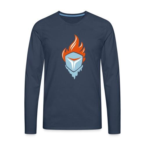 Fire and Ice 3C - Männer Premium Langarmshirt