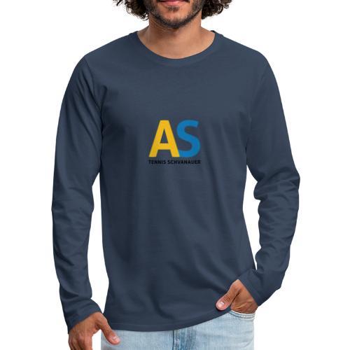 as logo - Maglietta Premium a manica lunga da uomo