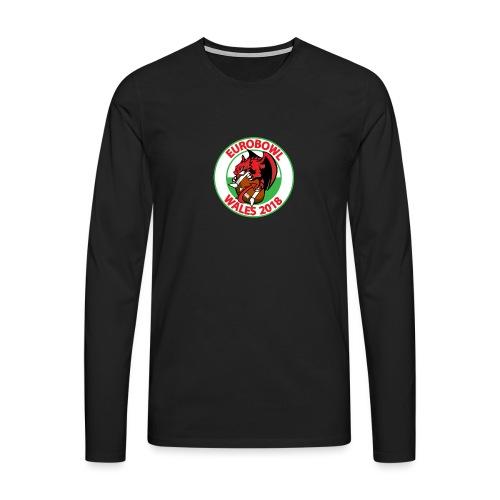 Eurobowl Wales 2018 - Men's Premium Longsleeve Shirt