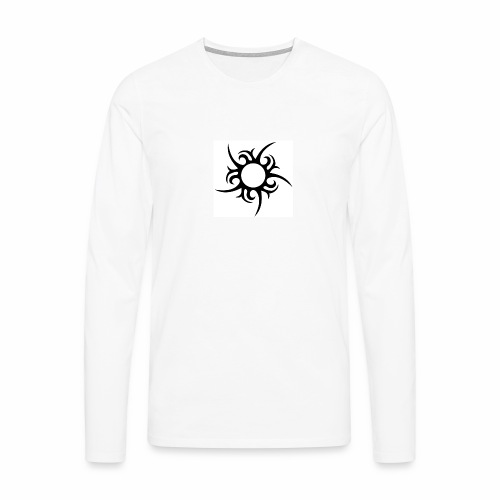 tribal sun - Men's Premium Longsleeve Shirt