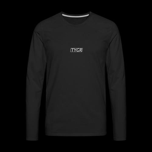 TYGR Box Design - Men's Premium Longsleeve Shirt