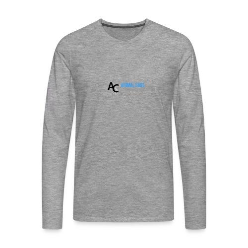 Sædding_Dyreklinik_ by Lattapon - Herre premium T-shirt med lange ærmer