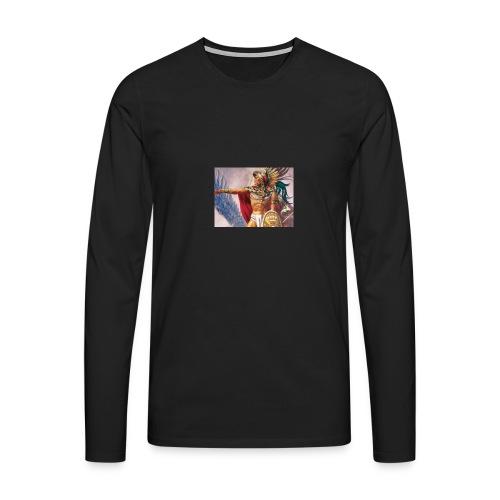 60F - Camiseta de manga larga premium hombre