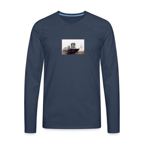 bwp2 - Koszulka męska Premium z długim rękawem