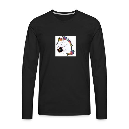 MIK Einhorn - Männer Premium Langarmshirt