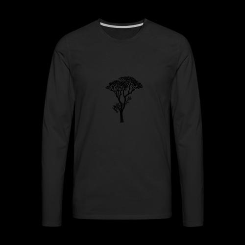 Arboleda - Camiseta de manga larga premium hombre