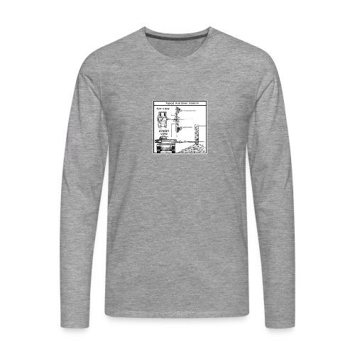 W.O.T War tactic, tank shot - Men's Premium Longsleeve Shirt