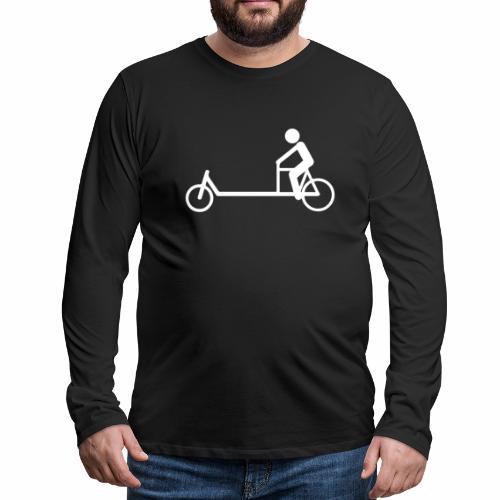 Biporteur - T-shirt manches longues Premium Homme