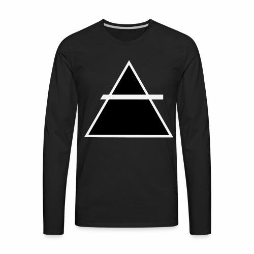 ALKIMASTA LOGO (THE AIR) - T-shirt manches longues Premium Homme