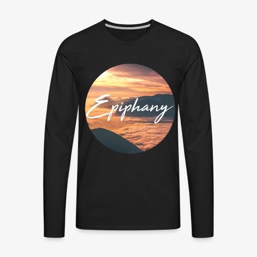 Epiphany - Långärmad premium-T-shirt herr