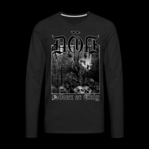 EP666 png - Premium langermet T-skjorte for menn