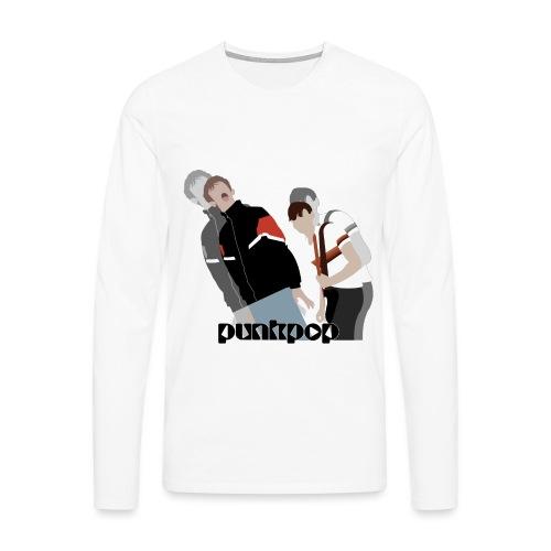 Girls and Boys PunkPop - Maglietta Premium a manica lunga da uomo