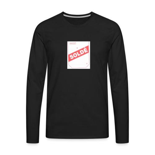 soldé - T-shirt manches longues Premium Homme