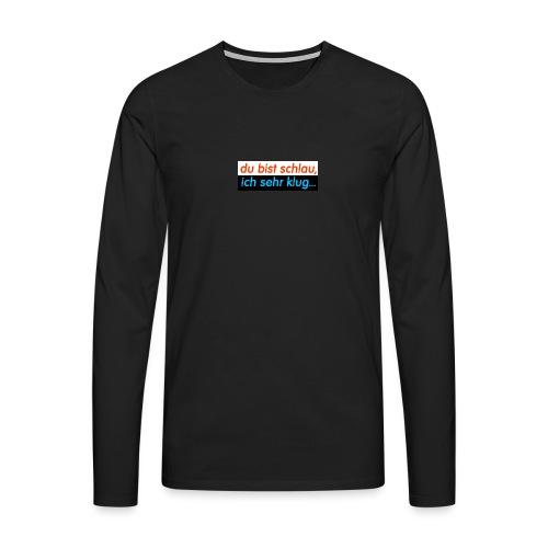 Text 006c - Männer Premium Langarmshirt