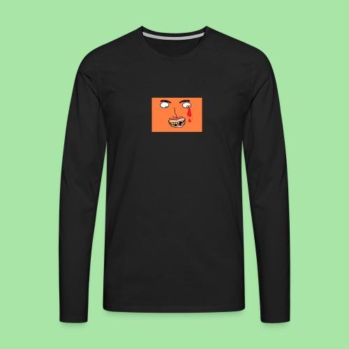 Moche-homme laid - T-shirt manches longues Premium Homme