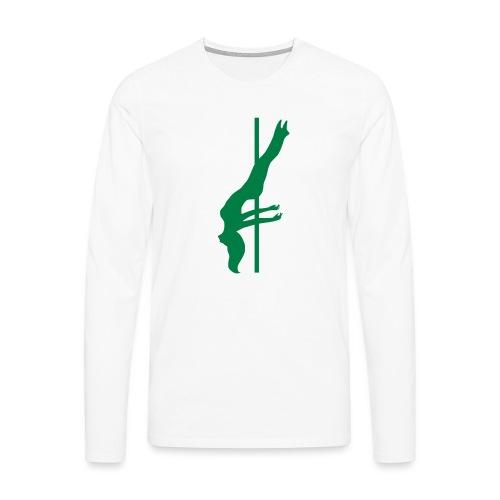 Pole Dance - Maglietta Premium a manica lunga da uomo