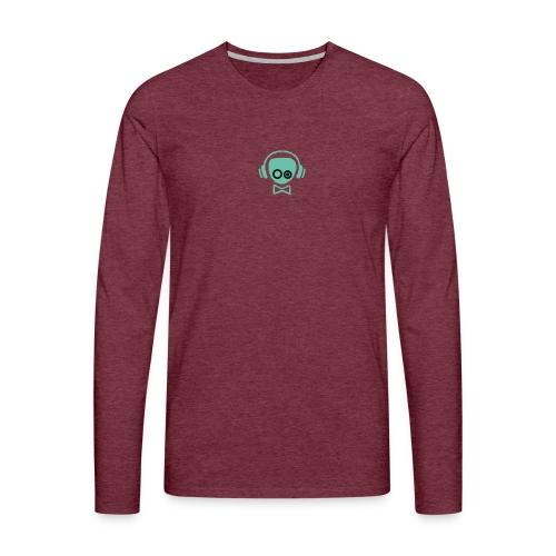 Gamer Design - Herre premium T-shirt med lange ærmer