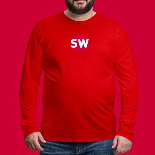 SchipholWatch - Mannen Premium shirt met lange mouwen