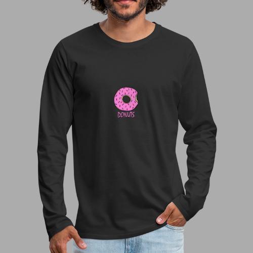 DONUTS - Camiseta de manga larga premium hombre