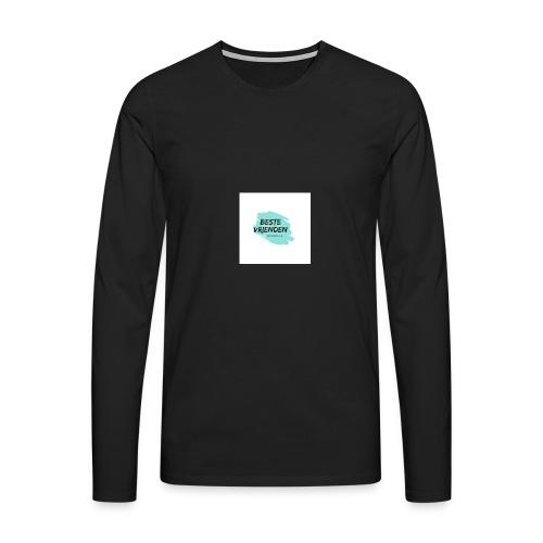 beste vriendeSpace - Mannen Premium shirt met lange mouwen