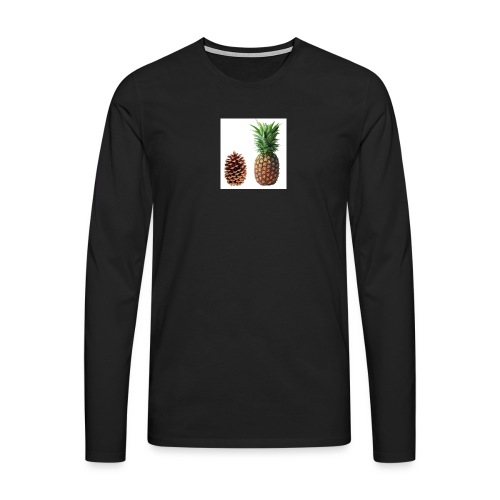 Pineapple - Men's Premium Longsleeve Shirt