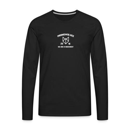 Promowolves finest png - Mannen Premium shirt met lange mouwen
