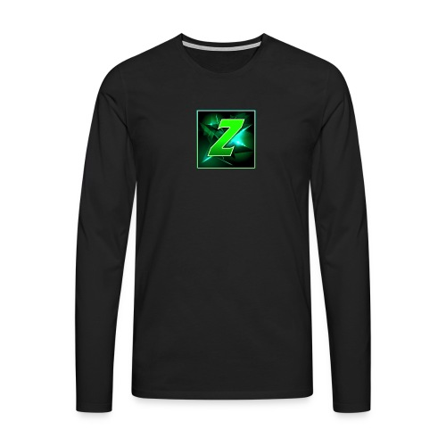 Youtube Logo - Men's Premium Longsleeve Shirt