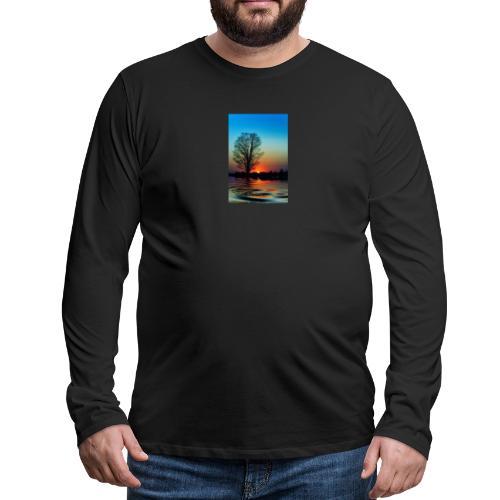 Evening - Långärmad premium-T-shirt herr
