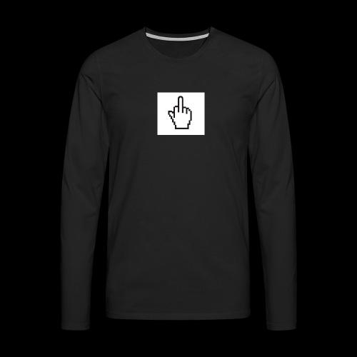 IMG 0451 JPG - Mannen Premium shirt met lange mouwen