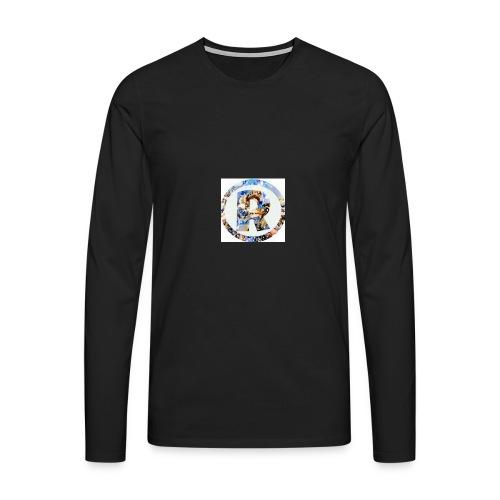 RazeDT design - Miesten premium pitkähihainen t-paita