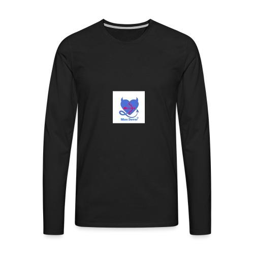 Logo Mon Dover - Maglietta Premium a manica lunga da uomo