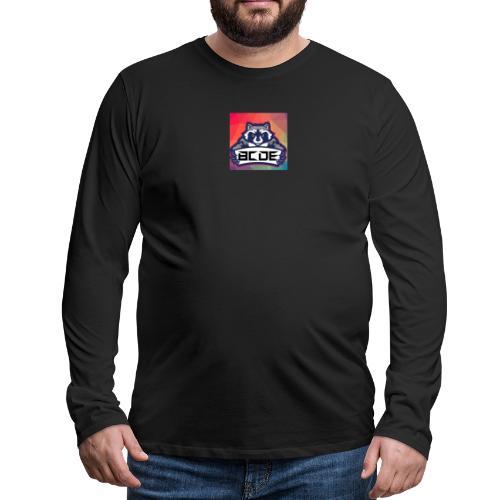 bcde_logo - Männer Premium Langarmshirt