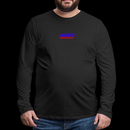 hugotransportfullrestransparent - Mannen Premium shirt met lange mouwen