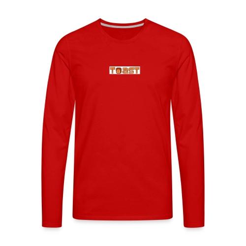Toast Muismat - Mannen Premium shirt met lange mouwen