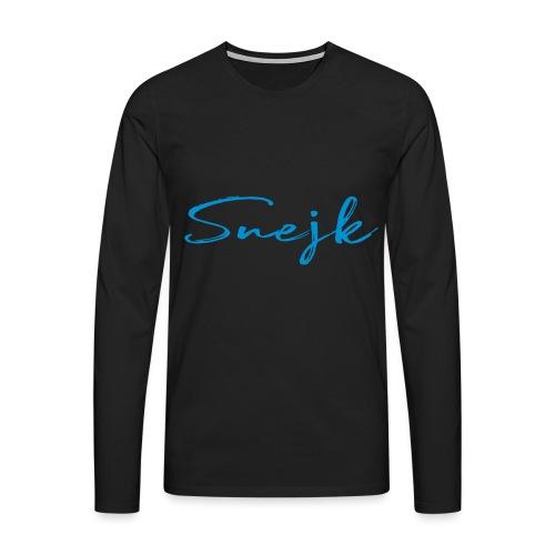 Snejk - Långärmad premium-T-shirt herr