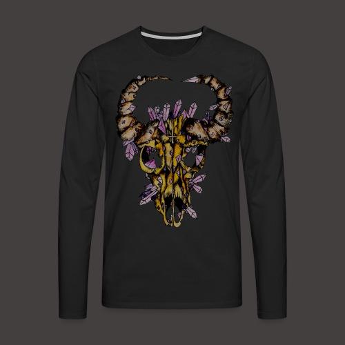 Buffle de Cristal Creepy - T-shirt manches longues Premium Homme