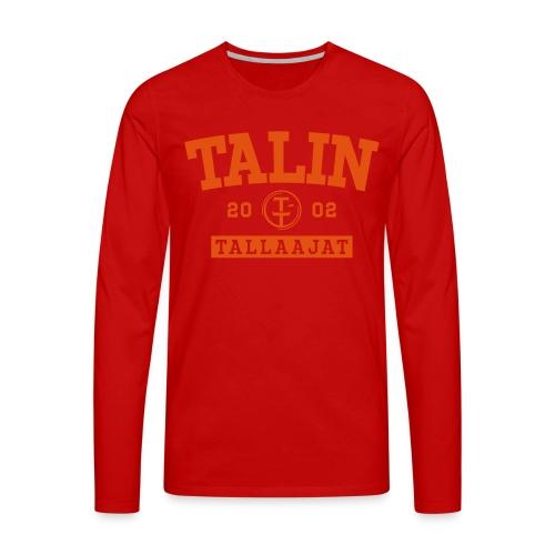 TT 2002 - Miesten premium pitkähihainen t-paita