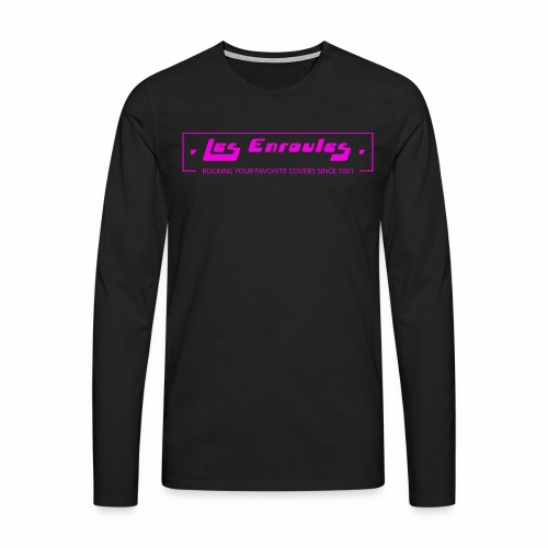 Rocking since 2001! Pink - T-shirt manches longues Premium Homme