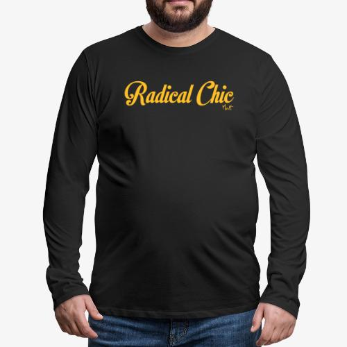 radical chic - Maglietta Premium a manica lunga da uomo