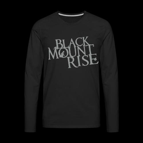 BMR Schriftzug simple black - Männer Premium Langarmshirt