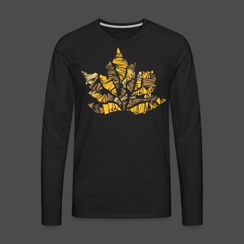 Fall Leaf - Men's Premium Longsleeve Shirt