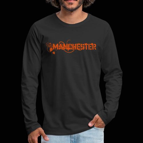 Manchester - T-shirt manches longues Premium Homme