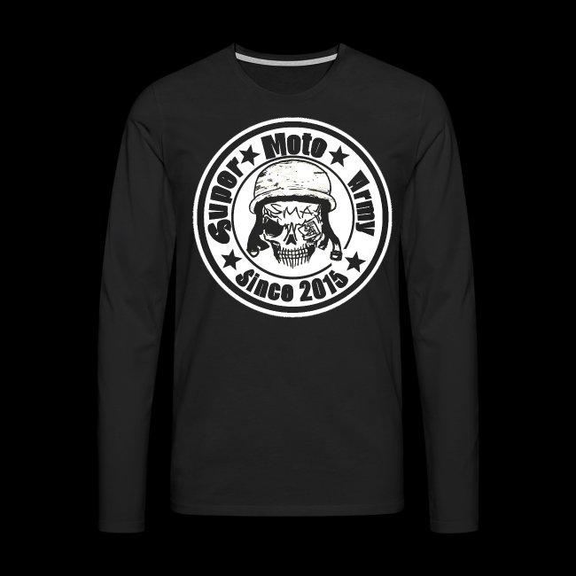 Logo Hoodie Vorne Weiß png