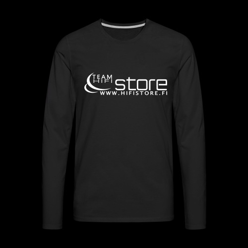 hifistore - Miesten premium pitkähihainen t-paita