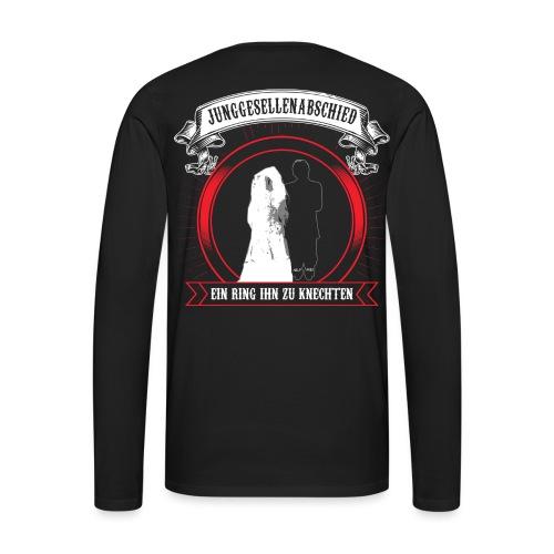 Help ME - Männer Premium Langarmshirt