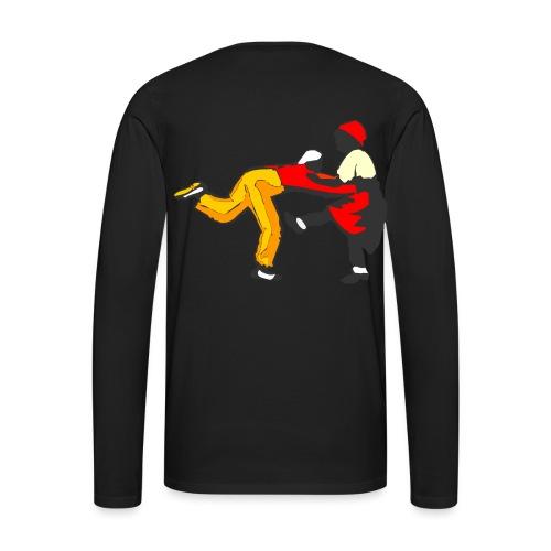 Do The Lindy Hop Back - Långärmad premium-T-shirt herr