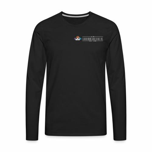Logo Small Neg - Maglietta Premium a manica lunga da uomo