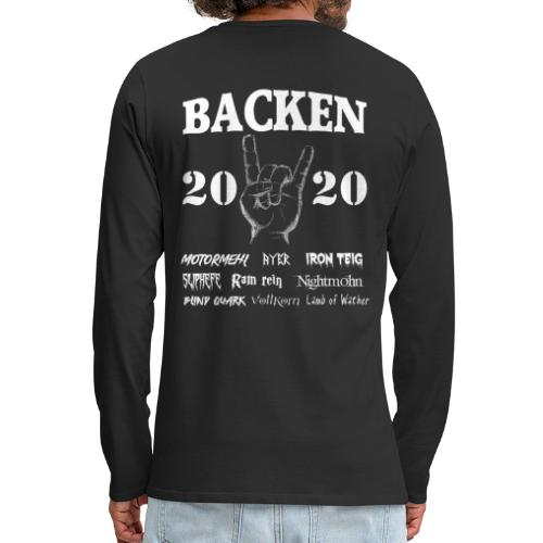 Backen 2020 | Lustiges Backen mit den größten - Männer Premium Langarmshirt
