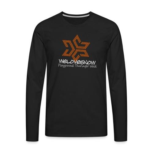 Pixel Playground - Männer Premium Langarmshirt